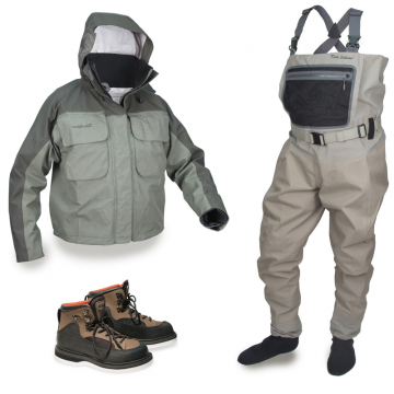 Комплект Ultimate Waders + Ultimate Wading Jacket + R3 Boots (-15%!)
