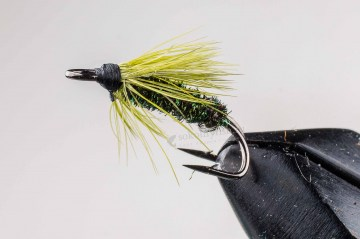 Мушка NV Peacock Double Chartreuse